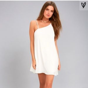 Lulus White Swing Dress